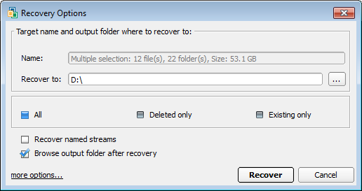 Active File Recovery 12