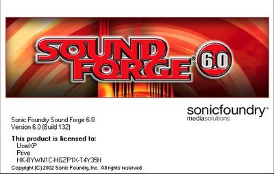 Sound Forge 6